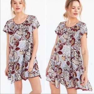 💜Silence + Noise Witchy T-Shirt Dress Size S